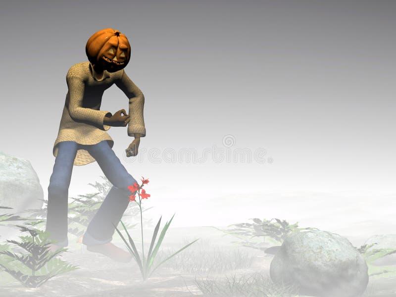 Download Halloween, Pumpkin Jack, Foggy Forest. Stock Illustration - Image: 285762
