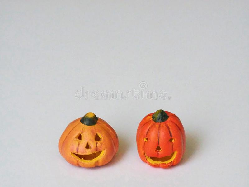 Halloween Pumpkin Jack 0` lantern Decoration stock images