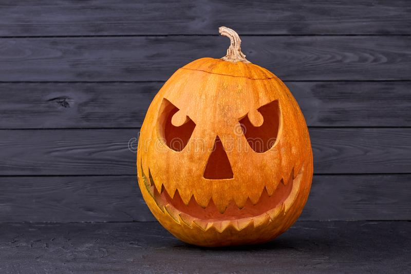 Halloween Pumpkin Jack O Lantern. stock images