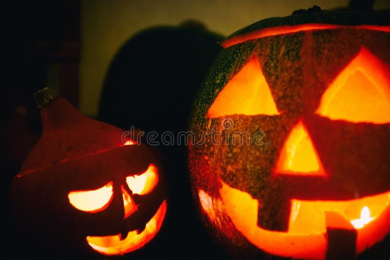 Halloween Pumpkin Lanterns Free Public Domain Cc0 Image