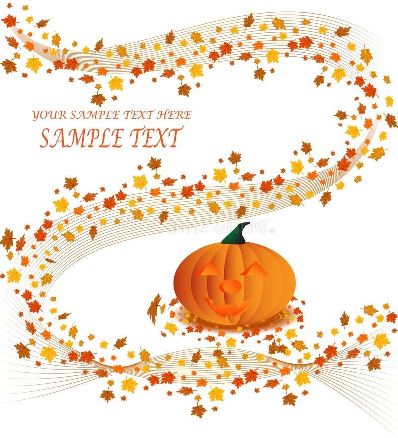 Download Halloween pumpkin poster stock vector. Image of cartoon - 6543724