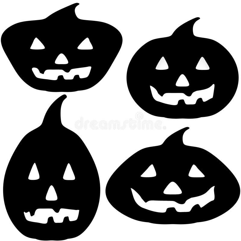 Download Halloween Pumpkin Silhouette Illustrations Stock Photos - Image: 34726883
