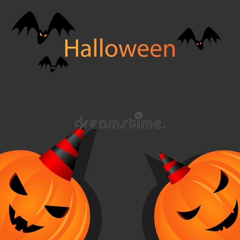 Download Halloween pumpkins stock vector. Image of dangerous, cover - 21113746