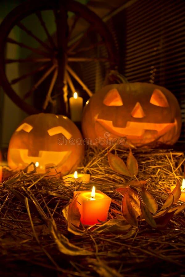 Download Halloween pumpkins stock photo. Image of barn, scary - 21291778