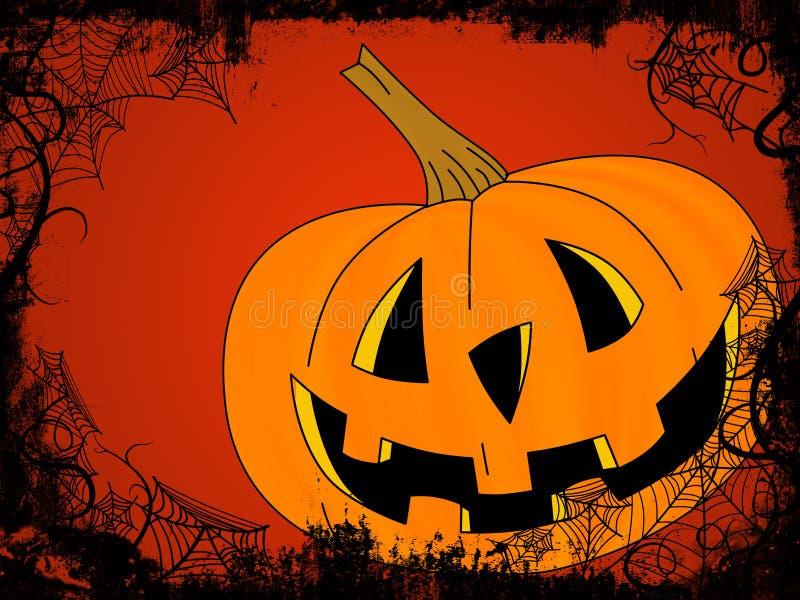 Halloween-Rahmen lizenzfreie abbildung