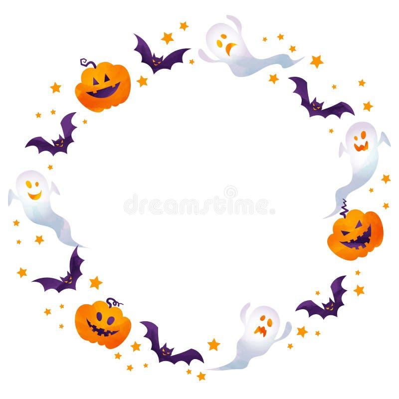 Halloween-Rahmen lizenzfreie stockbilder