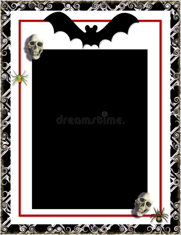Halloween ramowy ilustracji