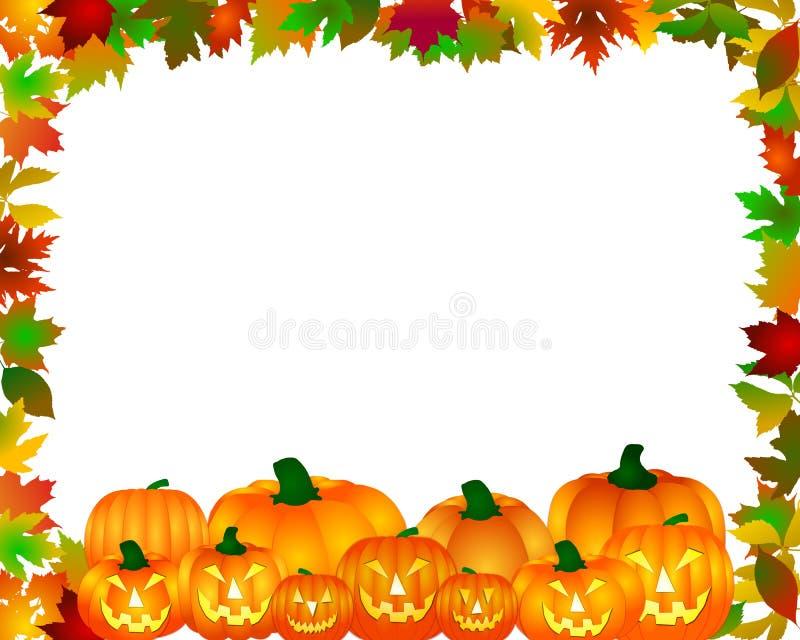 Halloween-Rand stock abbildung