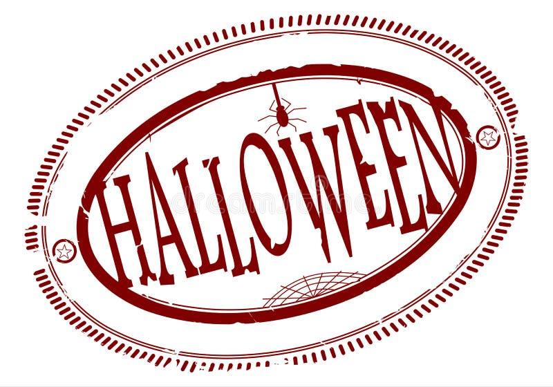 Download Halloween rubber stamp stock vector. Illustration of happy - 31725703