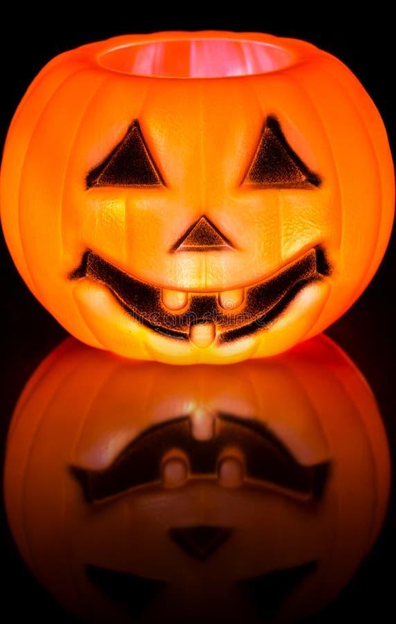 Halloween rzeźbiąca pączuszku fotografia stock