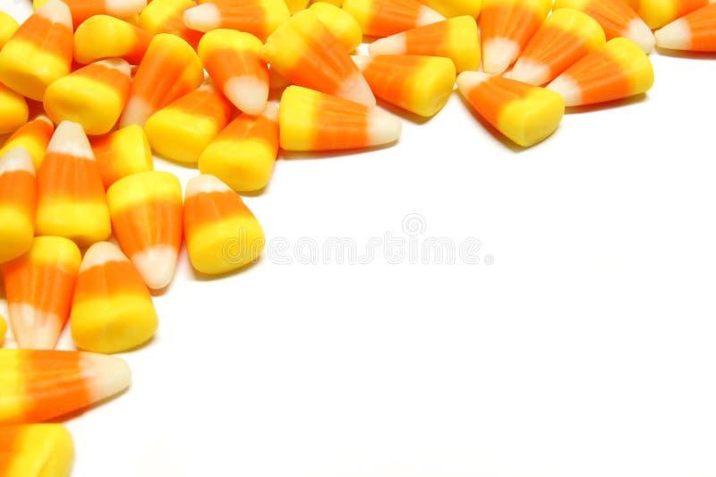 Halloween-Süßigkeitrand lizenzfreies stockfoto