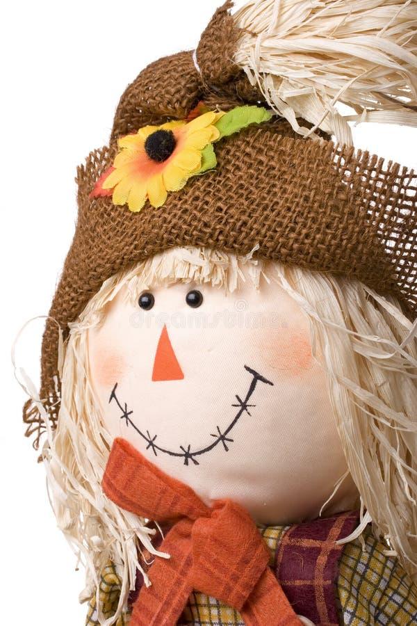 Halloween scarecrow stock images