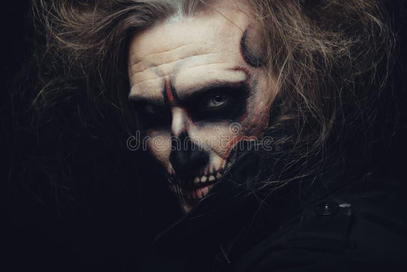 Halloween-Schädel stockfoto