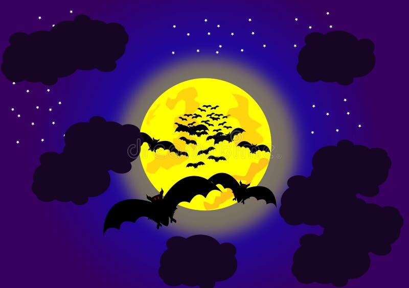 Halloween-Schläger lizenzfreie abbildung