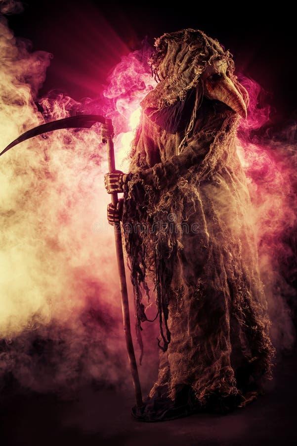 Halloween scuro fotografia stock