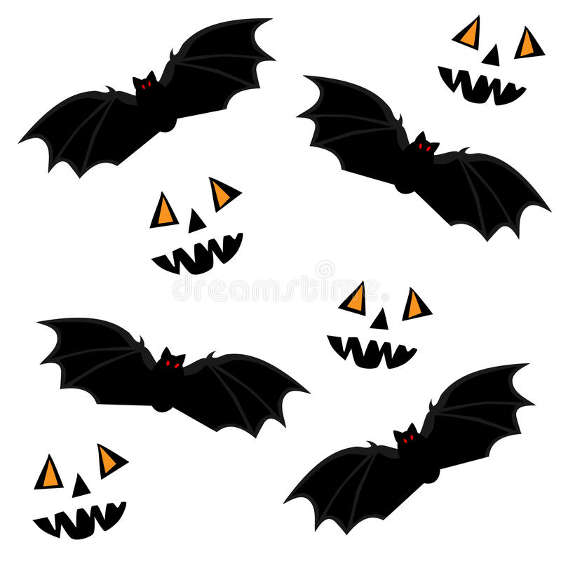 Download Halloween seamless stock vector. Image of nose, october - 16388004