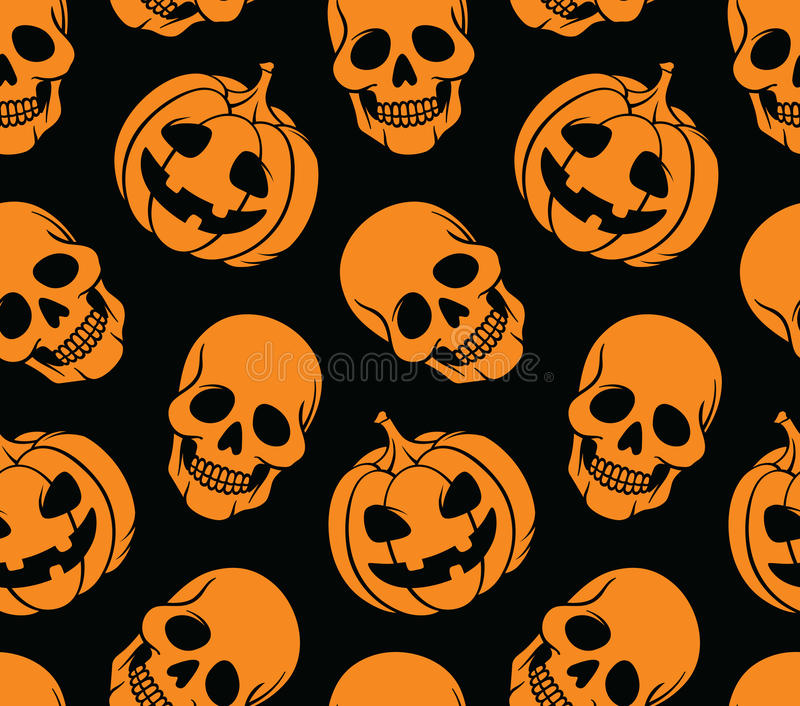 Halloween seamless royalty free illustration
