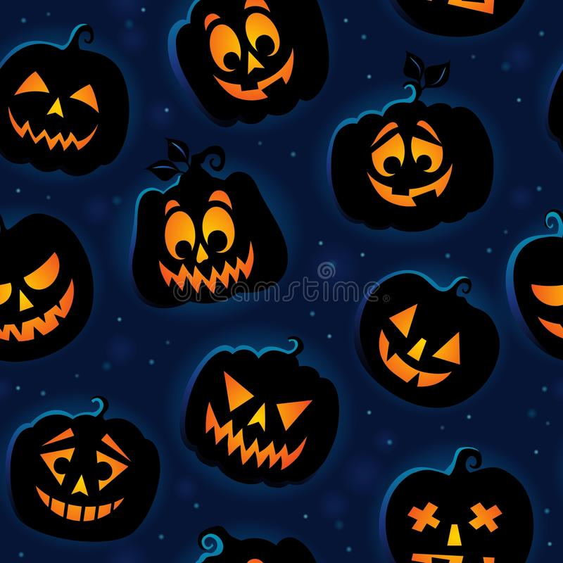 Free Halloween Seamless Background 6 Royalty Free Stock Images - 58248129