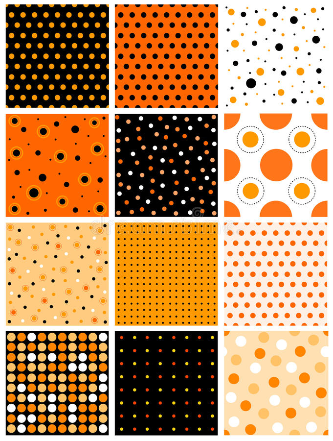 Free Halloween Seamless Pattern Stock Photo - 25223770