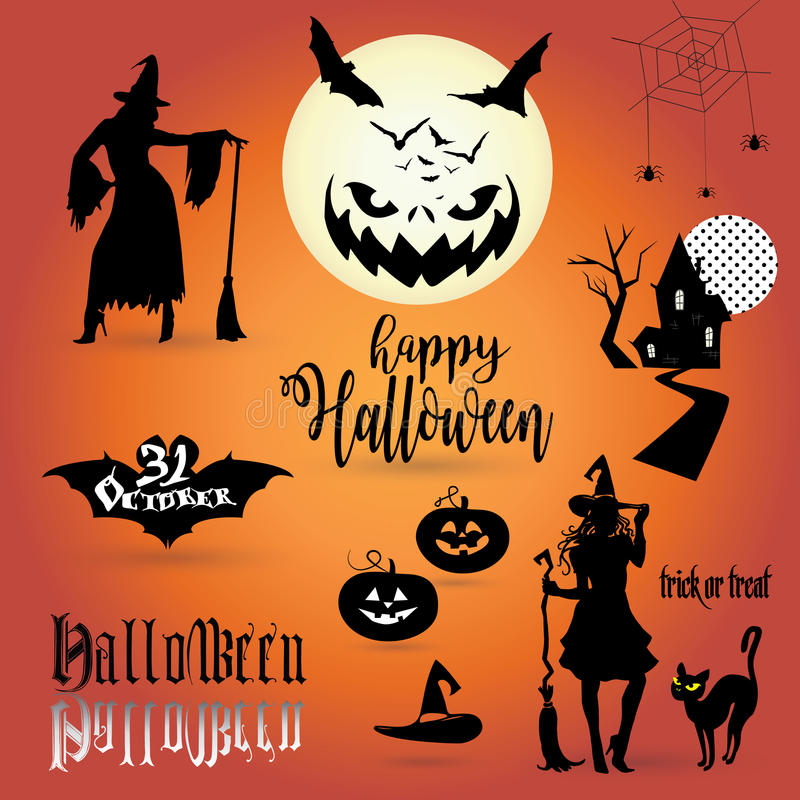 Download Halloween stock vector. Illustration of discount, cover - 79415849