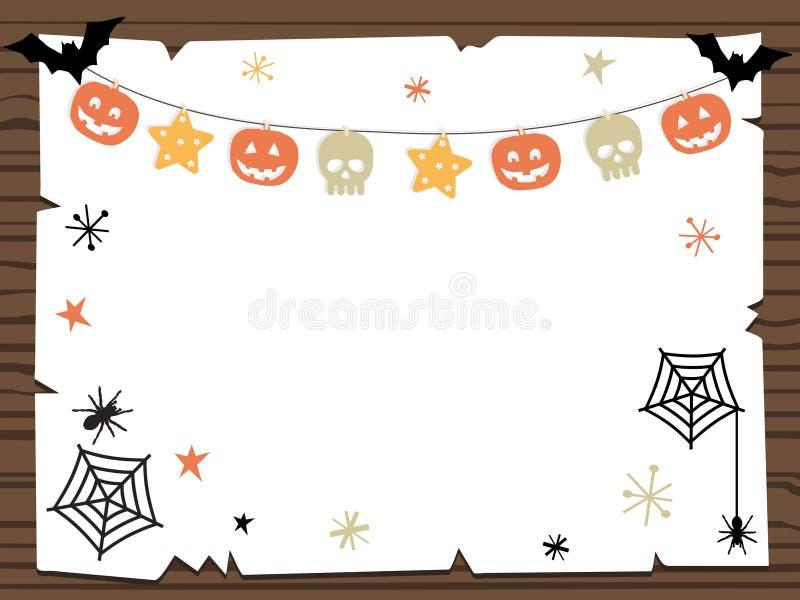 Halloween sign vector illustration