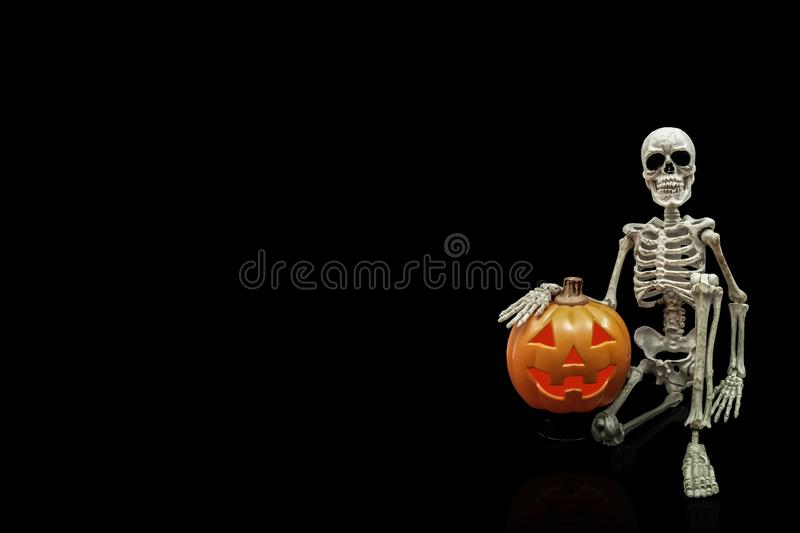 Proud Skeleton royalty free stock images