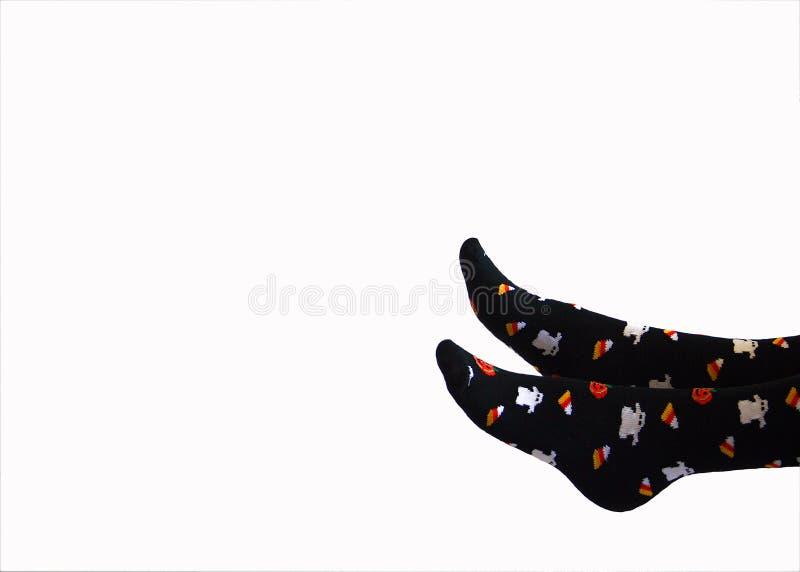 Halloween Socks Royalty Free Stock Image