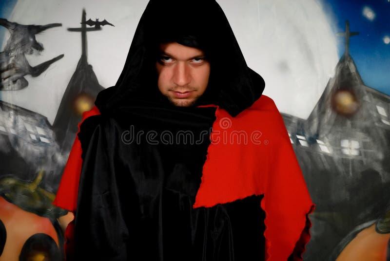 Download Halloween Sorcerer Graffiti Stock Image - Image: 10707357