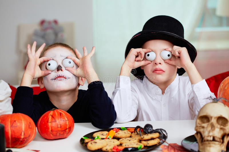 Halloween-Spaß stockfoto