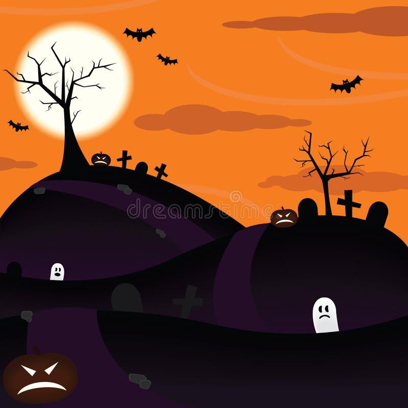 Halloween spaventoso   illustrazione di stock
