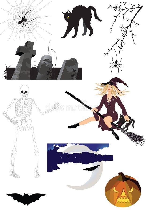 Halloween spaventoso royalty illustrazione gratis