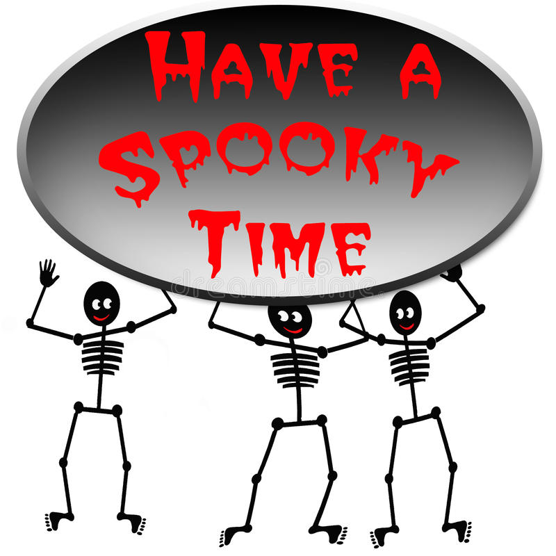 Halloween spooky time poster