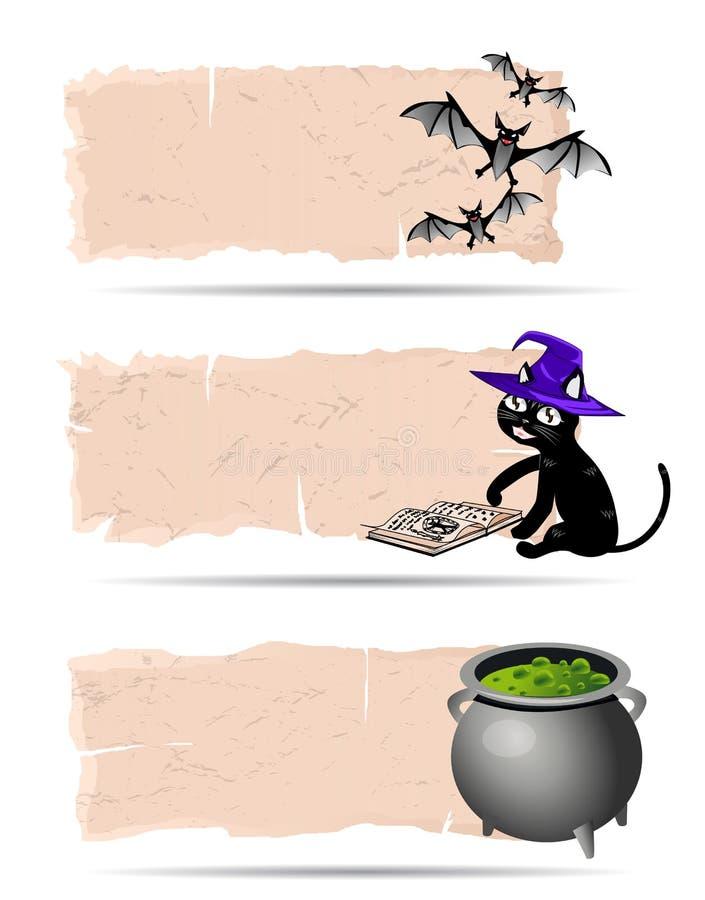 Download Halloween sticker vector stock vector. Image of banner - 33548595