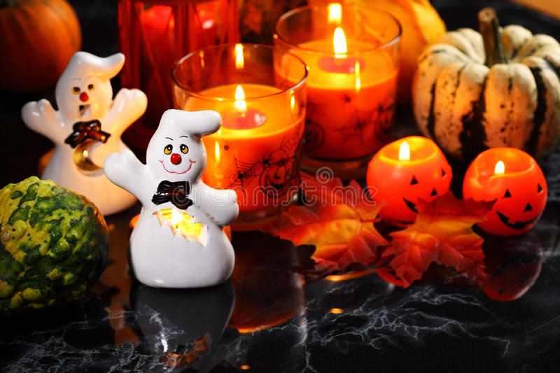 Halloween still life royalty free stock images