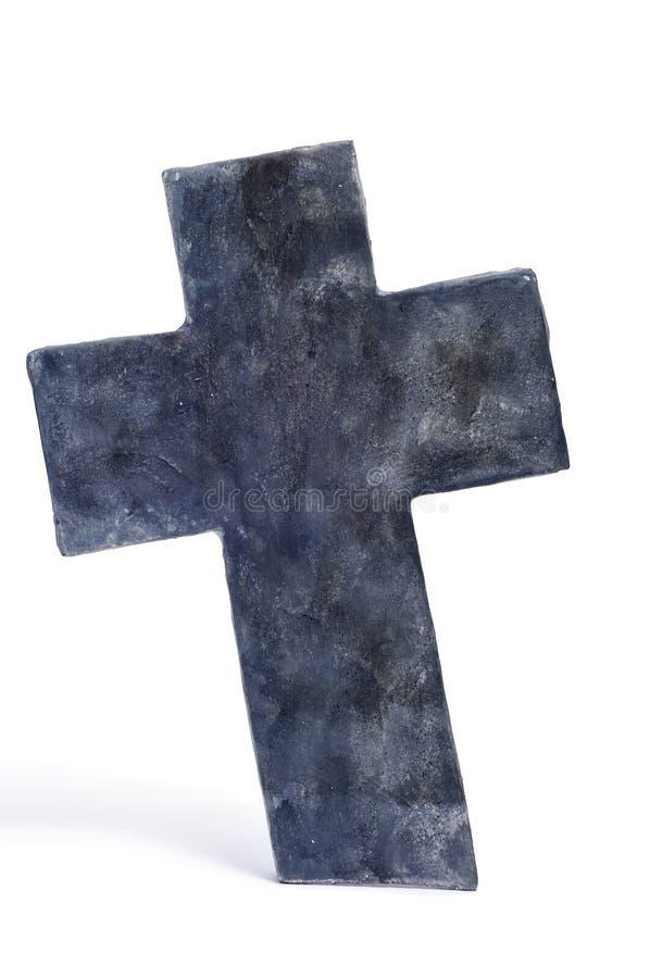 Download Halloween stone cross stock image. Image of isolated - 16455265