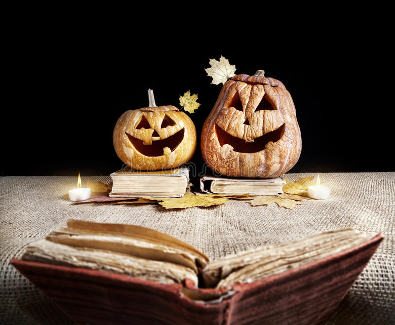 Halloween story royalty free stock photos