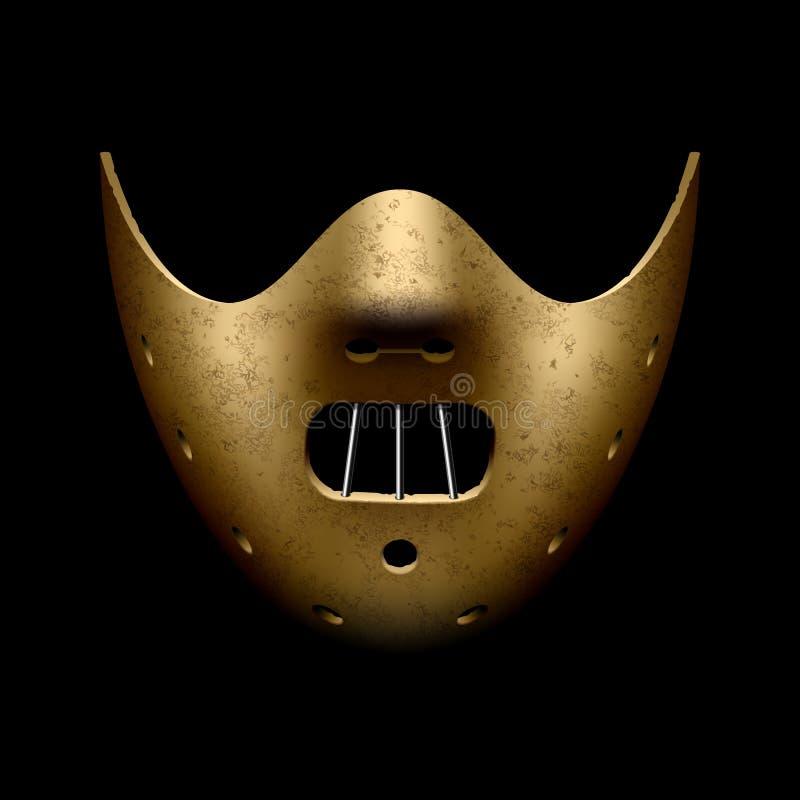 Halloween straszna maska ilustracji