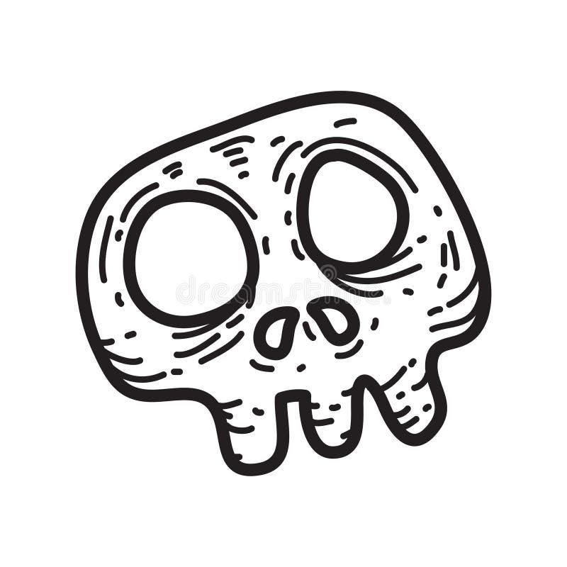 Free Halloween Stuff Creepy Skull Vector Illustration Stock Photos - 103048513