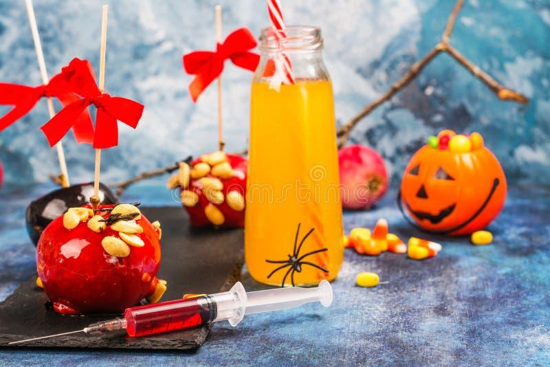 Halloween-suikergoedbar stock afbeelding