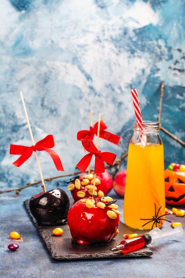 Halloween-suikergoedbar stock afbeeldingen