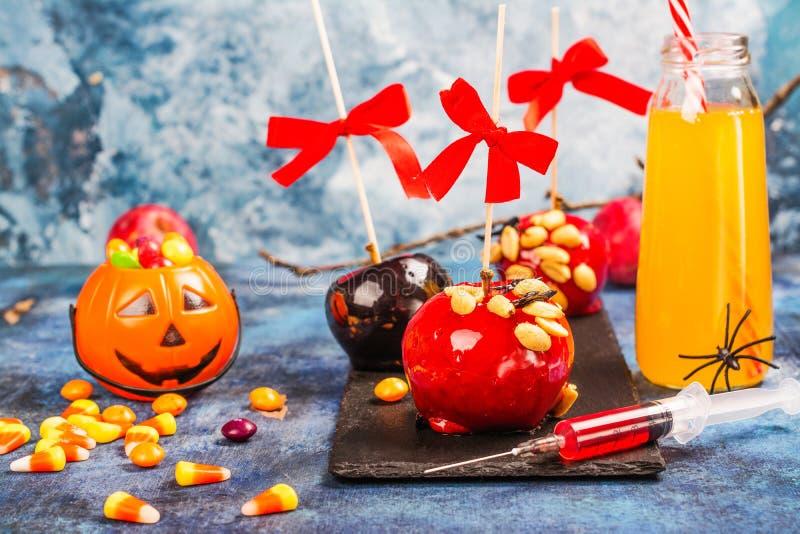Halloween-suikergoedbar royalty-vrije stock foto