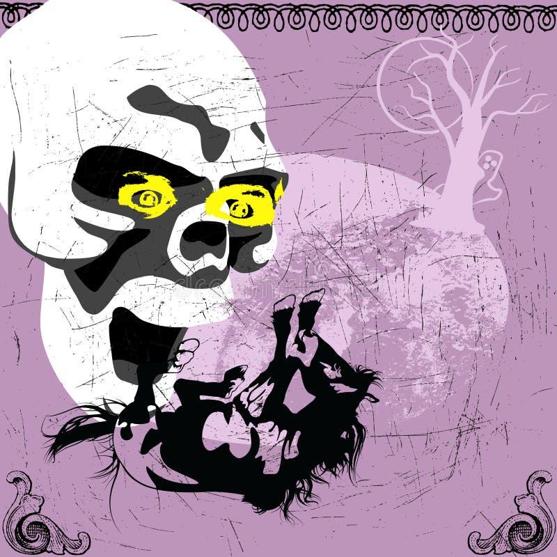 Halloween sveglio royalty illustrazione gratis