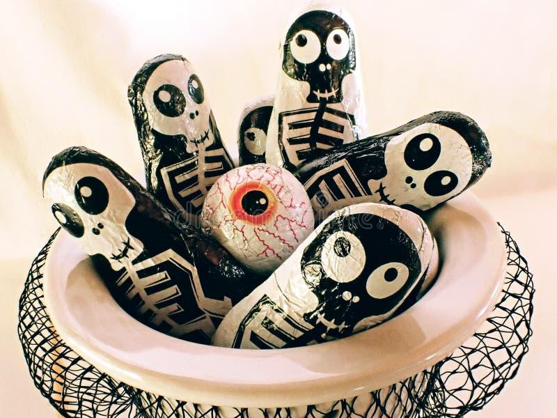 Halloween sweeties stock images