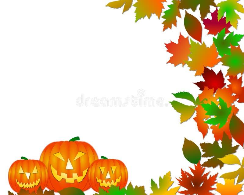 Halloween tło ilustracja wektor