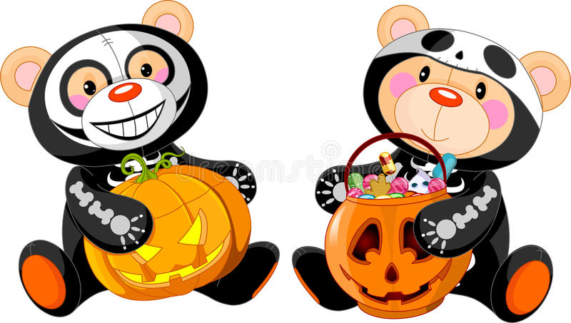 Download Halloween Teddy Bear stock vector. Illustration of character - 21510478