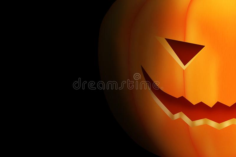 Halloween template design with space for text or message royalty free stock photos