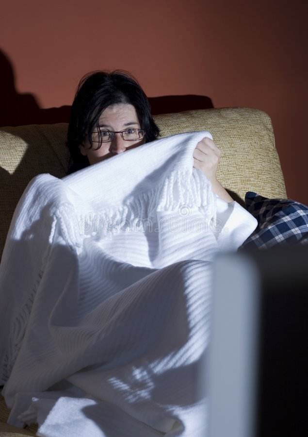 halloween terroru kobieta fotografia royalty free