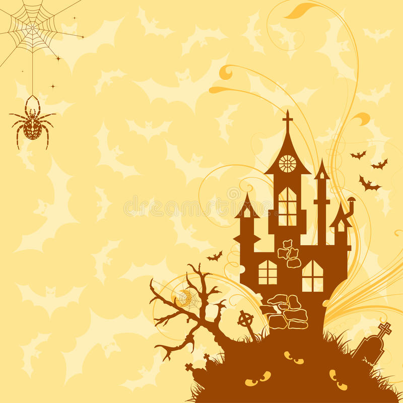 Download Halloween theme stock vector. Image of terrified, october - 16324637