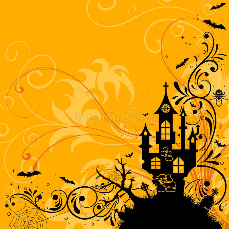 Download Halloween theme stock vector. Image of october, tomb - 16433305