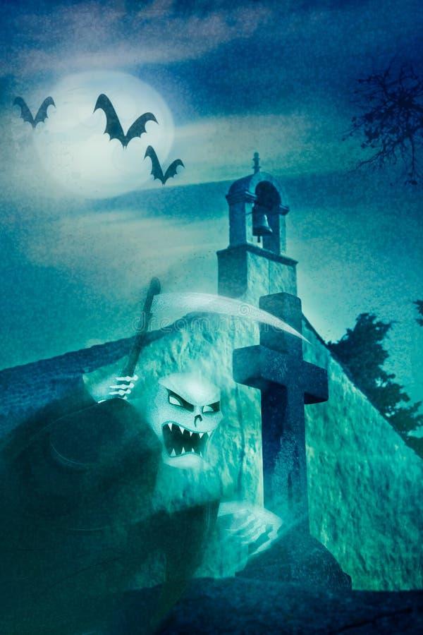 Halloween theme stock illustration